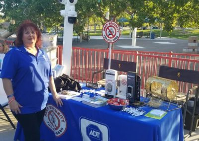 Community Outreach ASAP Security Booth