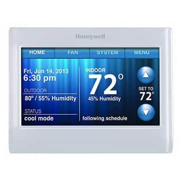 touchscreen honeywell thermostat